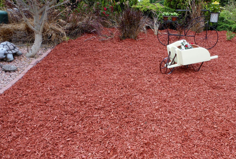 Redwood Bark Chips ~ San diego mulch